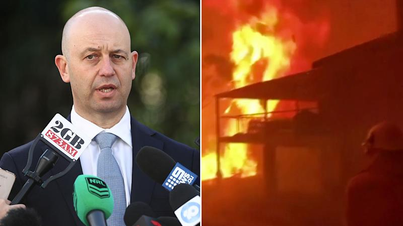 NRL CEO Todd Greenberg confirmed proceeds from round one would go towards the bushfire relief. Pic: Getty