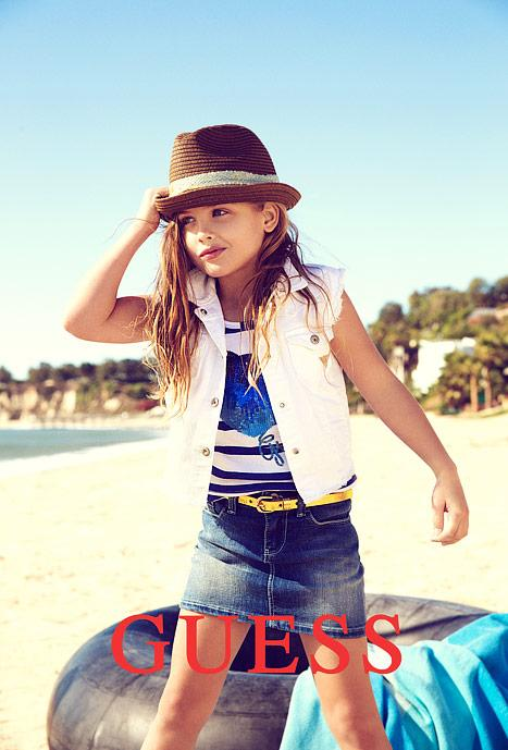 PICTURE: Anna Nicole Smith's Daughter Dannielynn Birkhead, 6, Models for GUESS