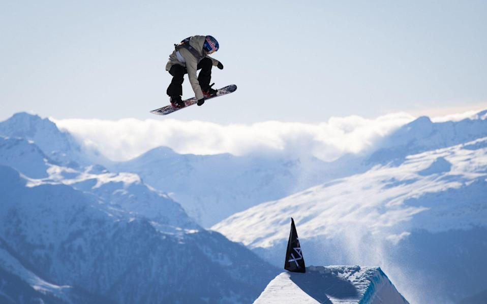 Katie Ormerod missed all of last season but finished third at the Laax Open - REX