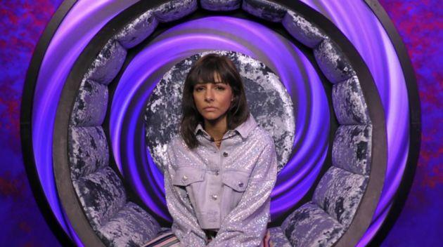 Roxanne Pallett was in the eye of a storm on 'Celebrity Big Brother' (Photo: Channel 5)