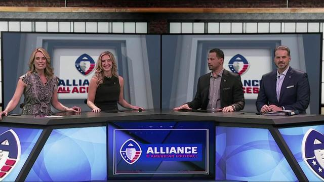 NFL Network analysts breakdown the highlights from Week 1 of Alliance of American Football.