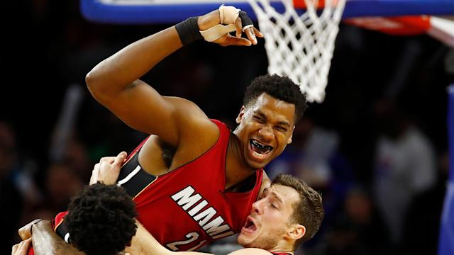 The Heat will be looking ahead to next season after failing to make the playoffs, but the future is bright with Hassan Whiteside at the helm.