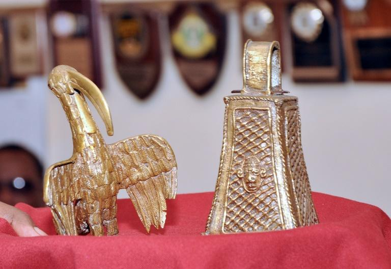 """Some of the """"Benin Bronzes"""" have been returned to Nigeria from Britain"""