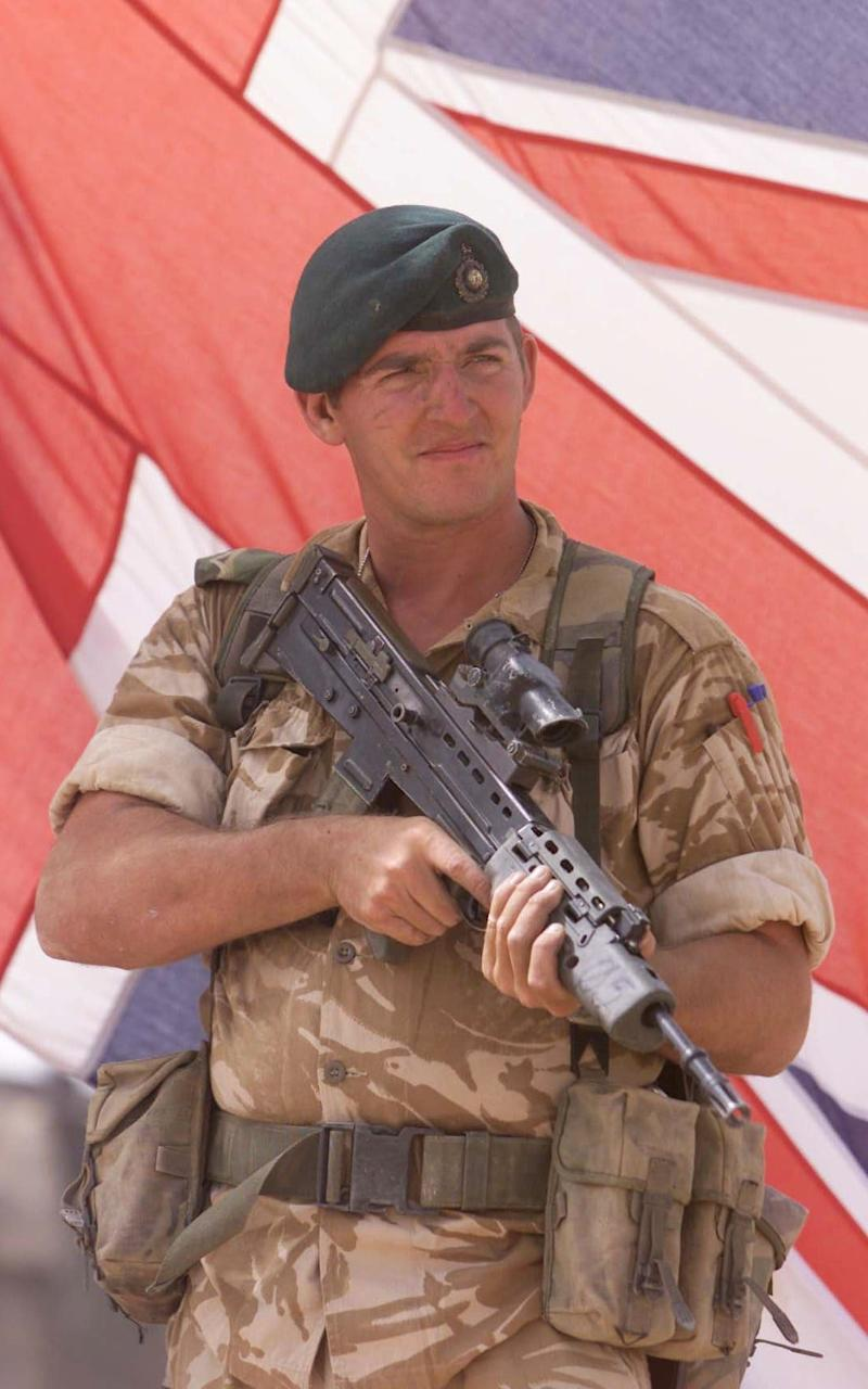 Alexander Blackman - Credit: Andrew Parsons /PA