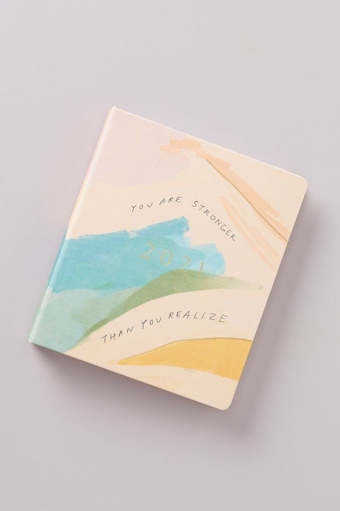"""<h3><a href=""""https://www.anthropologie.com/shop/morgan-harper-nichols-day-by-day-2021-planner"""" rel=""""nofollow noopener"""" target=""""_blank"""" data-ylk=""""slk:Morgan Harper Nichols Day By Day Planner"""" class=""""link rapid-noclick-resp"""">Morgan Harper Nichols Day By Day Planner</a></h3><br>This sweet 12-month planner includes monthly and weekly layouts, two sticker sheets, and one storage pocket.<br><br><strong>Morgan Harper Nichols</strong> Day By Day 2021 Planner, $, available at <a href=""""https://go.skimresources.com/?id=30283X879131&url=https%3A%2F%2Fwww.anthropologie.com%2Fshop%2Fmorgan-harper-nichols-day-by-day-2021-planner"""" rel=""""nofollow noopener"""" target=""""_blank"""" data-ylk=""""slk:Anthropologie"""" class=""""link rapid-noclick-resp"""">Anthropologie</a>"""