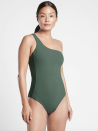 """<p><strong>Athleta</strong></p><p>athleta.gap.com</p><p><strong>$108.00</strong></p><p><a href=""""https://go.redirectingat.com?id=74968X1596630&url=https%3A%2F%2Fathleta.gap.com%2Fbrowse%2Fproduct.do%3Fpid%3D530895002%26cid%3D1115165%26pcid%3D97463%26vid%3D1%26grid%3Dpds_7_9_1%23pdp-page-content&sref=https%3A%2F%2Fwww.womenshealthmag.com%2Ffitness%2Fg23585757%2Fsporty-swimsuits%2F"""" rel=""""nofollow noopener"""" target=""""_blank"""" data-ylk=""""slk:Shop Now"""" class=""""link rapid-noclick-resp"""">Shop Now</a></p><p>This swimsuit from Athleta gives you all the support, without making you feel like you can't breathe. It's made of Lycra Xtra Life fabric that can stretch, but snap back. Plus, it's compressive liner offers extra support. </p><p><strong>Rave review: </strong>""""This swimsuit fits exactly how you think it should. All the coverage, with style to go along with it!"""" <em>—K. Cook, <a href=""""https://go.redirectingat.com?id=74968X1596630&url=https%3A%2F%2Fathleta.gap.com%2Fbrowse%2Fproduct.do%3Fpid%3D530895002%26cid%3D1115165%26pcid%3D97463%26vid%3D1%26grid%3Dpds_7_9_1%23pdp-page-content&sref=https%3A%2F%2Fwww.womenshealthmag.com%2Ffitness%2Fg23585757%2Fsporty-swimsuits%2F"""" rel=""""nofollow noopener"""" target=""""_blank"""" data-ylk=""""slk:athleta.com"""" class=""""link rapid-noclick-resp"""">athleta.com</a></em></p>"""