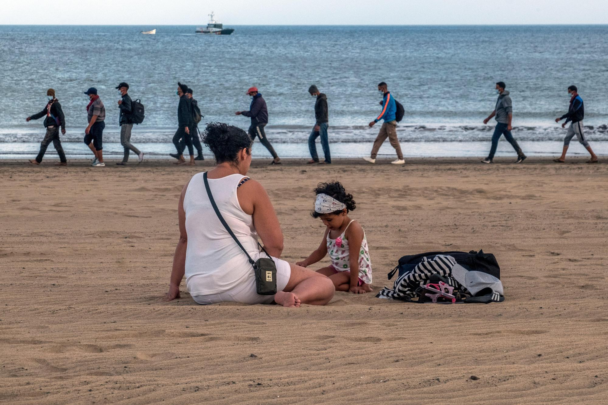 Spain to build Canary Island migrant camps after 900% rise in arrivals