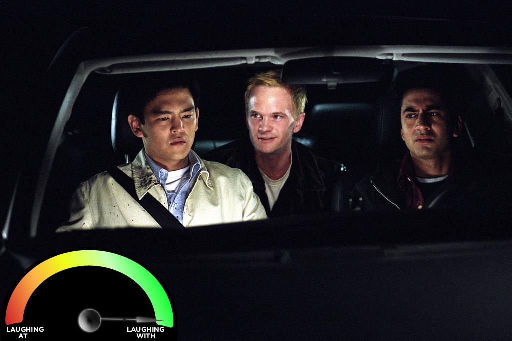 "<b>Neil Patrick Harris </b><br>""<a href=""http://movies.yahoo.com/movie/harold-and-kumar-go-to-white-castle/"">Harold & Kumar Go to White Castle</a>"" (2004)<br>What makes NPH's cameo so wonderfully funny is that he presents a side of himself that is so different than the Doogie Howser wunderkind I expected him to be. It turns out NPH isn't just a guy I'd want to treat my illnesses, but a guy I'd like to party with."