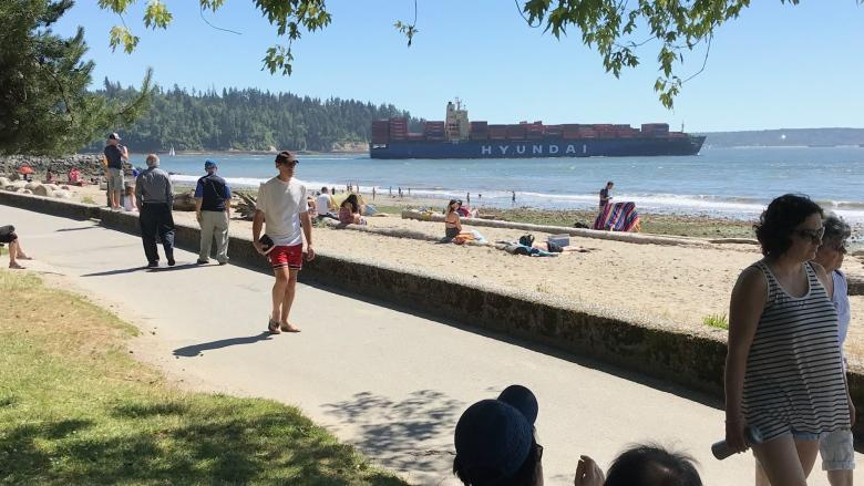 B.C. is Canada's hot spot as temperature records fall across province