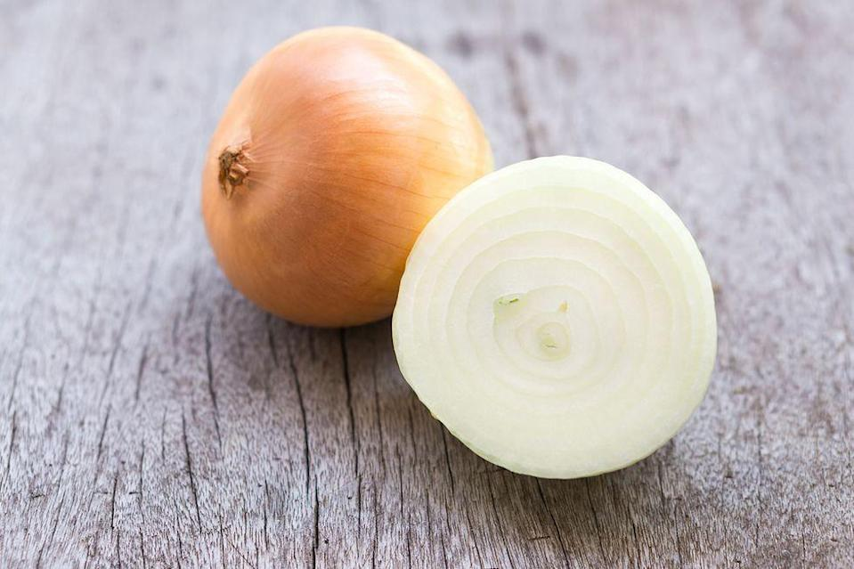 <p>Ever notice your onions getting soft and moldy in the fridge? It's caused by the moisture. Store them somewhere cool and dry, but not in a plastic bag or near potatoes.</p>