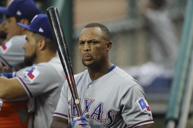Is Adrian Beltre spending his final weekend in a Texas Rangers uniform? That decision could be up to him. (AP)