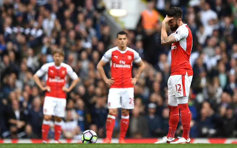 An increasingly familiar sight, Arsenal have ceded north London superiority this season - Credit: Shaun Botterill/Getty