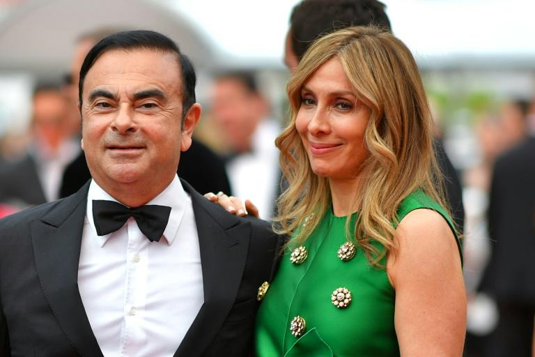 Carlos Ghosn was reunited with wife Carole in Beirut after he fled Japan