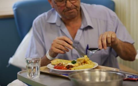 Could charging patients for hospital food create reinvestment and better meals? - Credit: Yui Mok/PA Archive