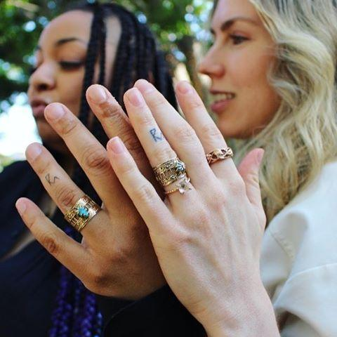 "<p>Raven and her wife, Miranda Pearman-Maday, made things even more official <a href=""https://www.seventeen.com/celebrity/celebrity-couples/a32907124/raven-symone-married-miranda-pearman-maday/"" rel=""nofollow noopener"" target=""_blank"" data-ylk=""slk:before their wedding"" class=""link rapid-noclick-resp"">before their wedding </a>with matching tattoos. According to Raven, they were done by artist Winterstone. The new ink, which is on each of their left ring fingers, feature the letters R and M connected together, referencing their initials. </p><p><a href=""https://www.instagram.com/p/CBly_tjDPBb/"" rel=""nofollow noopener"" target=""_blank"" data-ylk=""slk:See the original post on Instagram"" class=""link rapid-noclick-resp"">See the original post on Instagram</a></p>"