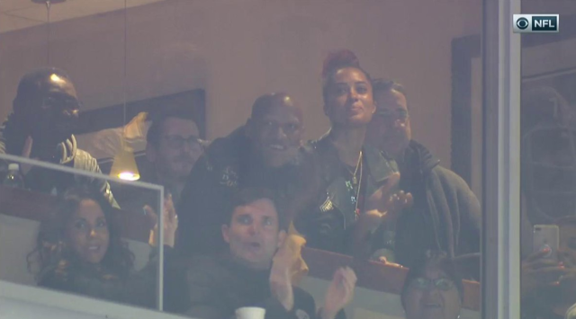 Ryan Shazier watches his team in action. (CBS screen shot)
