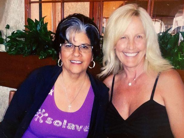 PHOTO: Roberta Walker and Erin Brockovich pictured at an unknown date. (Courtesy of Roberta Walker)