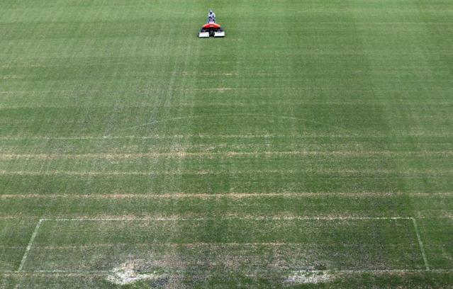 Manaus groundsman says pitch 'is in bad shape' days before first World Cup match