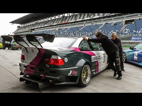 "<p>The M3 GTR is an odd duck. Built to race in the American Le Mans Series, it used a purpose-built 4.0-liter flat-plane crank V-8 rather than a version of the straight-six in the road car. <a href=""https://www.roadandtrack.com/motorsports/a22767418/2001-bmw-m3-gtr-test/"" target=""_blank"">We got to drive one</a> in 2018, and it was wonderful. </p><p><a href=""https://www.youtube.com/watch?v=v_Dpz5gXNzI"">See the original post on Youtube</a></p>"