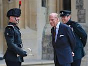 <p>The same summer that he attended his granddaughter Princess Beatrice and Edoardo Mapelli Mozzi's wedding, Prince Philip appeared at a socially distanced ceremony at Windsor Castle to hand over his role of Colonel-in-Chief of the Rifles military regiment to his daughter-in-law, Duchess Camilla of Cornwall. He had previously held the position for nearly seven decades.</p><p>The Duke of Edinburgh died at the age of 99 on April 9, 2021 at Windsor Castle. </p>
