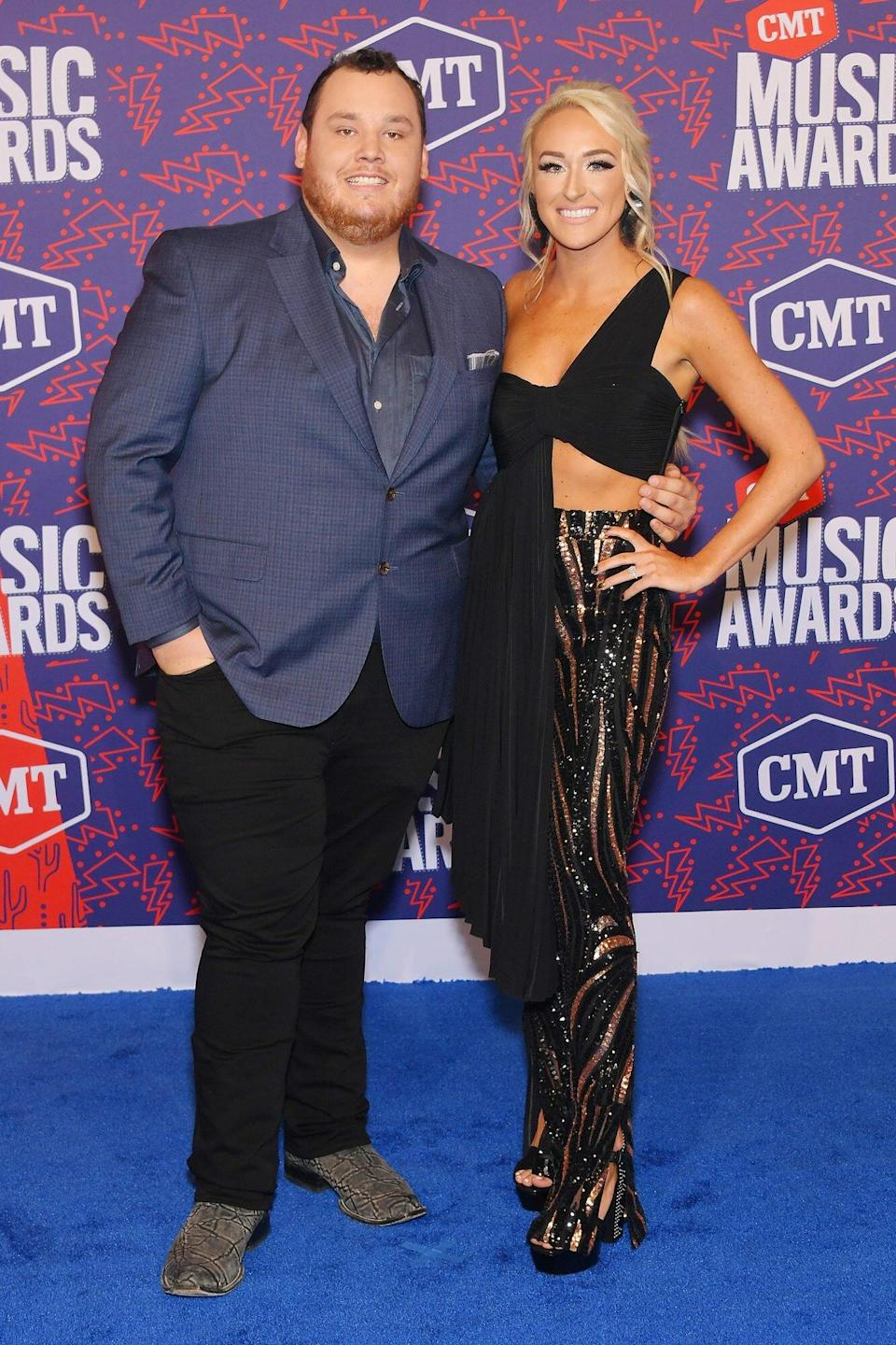 Luke Combs' Wedding Rehearsal Dinner Featured a 'Very Delicious' Beer Can-Shaped Cake