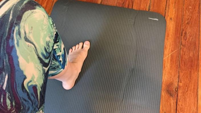 It doesn't take much to start a yoga practice, but this cushy mat will help you start off on the right foot