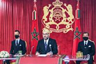 Most major decisions in Moroccan politics still ultimately flow from King Mohammed VI (AFP/-)