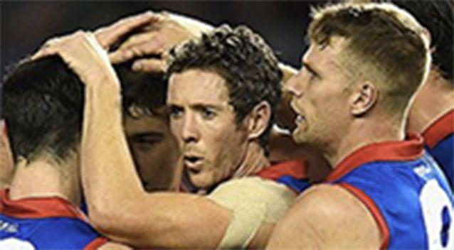 Bob Murphy during his 300th game. Photo: Getty