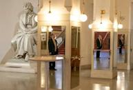 A return to full concert halls -- and larger-scale productions -- is expected from September. Shown here is the lobby of of the Wiener Konzerthaus