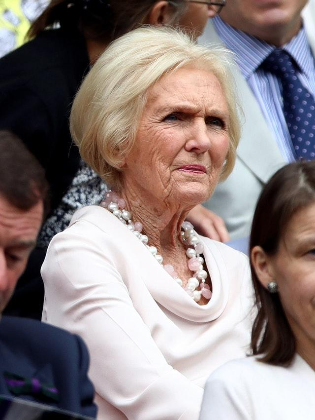 Mary Berry (John Walton/PA)