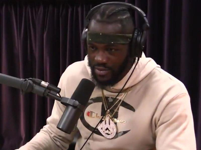Deontay Wilder claimed on the Joe Rogan Podcast that he trains in a weighted vest: The Joe Rogan Podcast