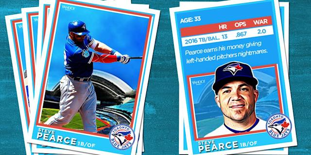 <p>This off-season the Blue Jays added versatility and pop in the form of Steve Pearce. </p>