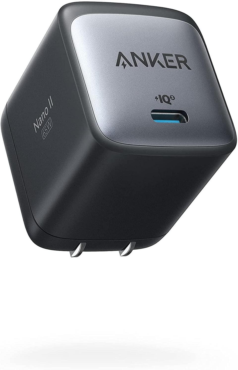 anker nano ii 65W laptop charger, best laptop chargers