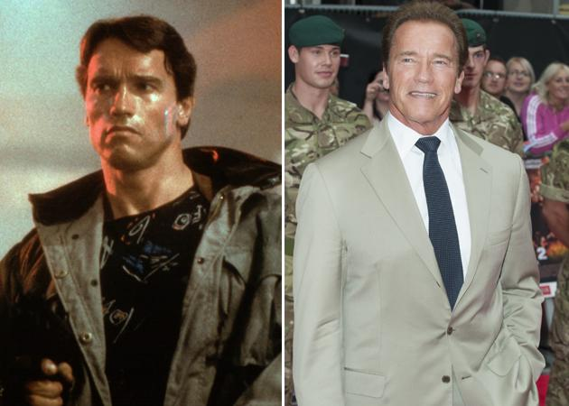 Expendables 2: Then and now