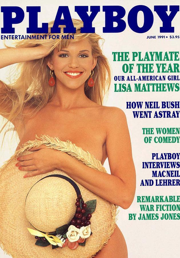 Lisa Matthews was a Playmate in the early 90s.