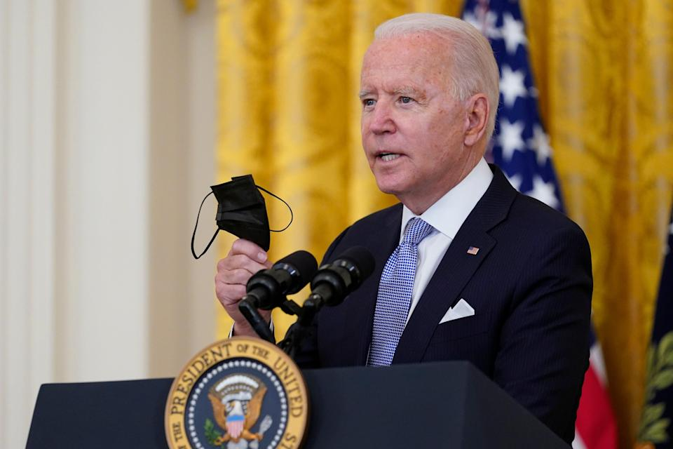 Biden (Copyright 2021 The Associated Press. All rights reserved.)