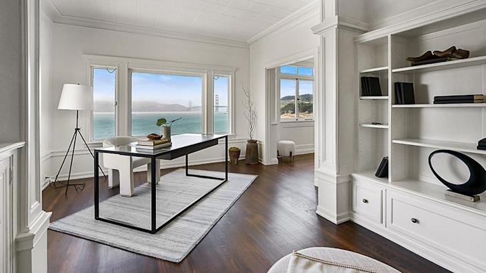 The office. - Credit: Photo: Courtesy of Lunghi Media Group for Sotheby's International Realty