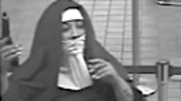 'Nuns' On The Run After Habit-Wearing Bank Robbers Botch Heist