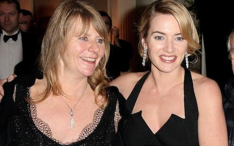 Kate Winslet and her mother Sally - Credit: Dave Hogan/Getty Images