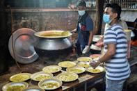 Mehmankhana is one of the last charities still feeding those left destitute by the pandemic