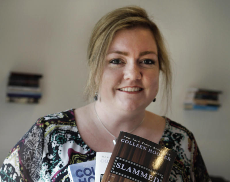 Texas woman self-publishes, hits best-seller lists