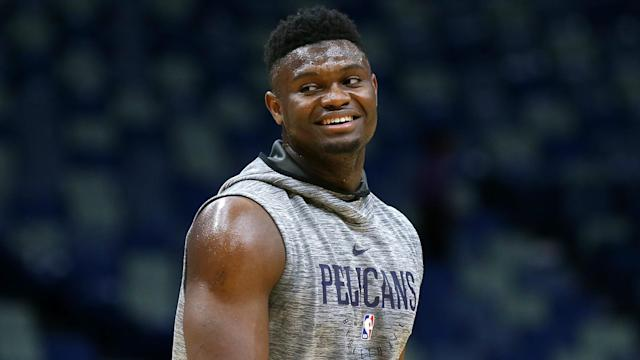 New Orleans Pelicans fans loved their first look at Zion Williamson on their home court as he starred against the Utah Jazz.