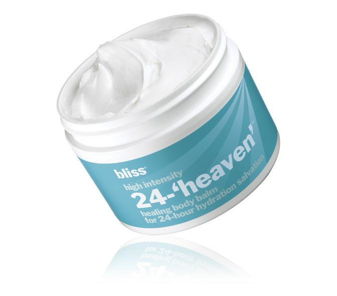 """<p>This unique, nourishing balm feels like a combination of mousse, balm, and cream and is designed to provide 24 hours' worth of moisture. Targeting extremely dry, itchy, or cracked skin, the product relies on exfoliating lactic acid and healing colloidal oatmeal to calm problem winter skin.<a href=""""https://www.blissworld.com/products/blissworld-loves/bliss-high-intensity-24-heaven-healing-body-balm"""">Bliss High Intensity 24-'Heaven' Healing Body Balm</a>($35)</p>"""