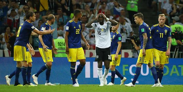 Soccer Football - World Cup - Group F - Germany vs Sweden - Fisht Stadium, Sochi, Russia - June 23, 2018 Germany's Antonio Rudiger REUTERS/Pilar Olivares