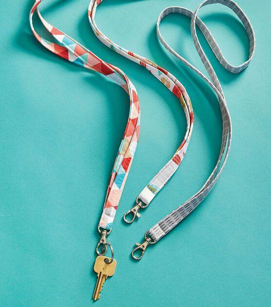"""<p>Whether you need to stash your keys or hold an ID badge, do it in style with a DIY lanyard. This also makes great birthday presents for friends.</p><p><a href=""""https://go.redirectingat.com?id=74968X1596630&url=https%3A%2F%2Fwww.joann.com%2Fcotton-lanyard%2F0922188784P127.html&sref=https%3A%2F%2Fwww.goodhousekeeping.com%2Fhome%2Fcraft-ideas%2Fg22593259%2Fback-to-school-diy%2F"""" rel=""""nofollow noopener"""" target=""""_blank"""" data-ylk=""""slk:Get the tutorial at JOANN »"""" class=""""link rapid-noclick-resp""""><em>Get the tutorial at JOANN »</em></a></p>"""