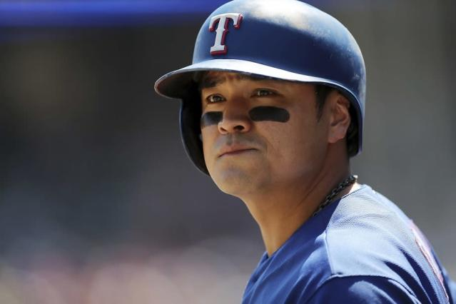 Shin-Soo Choo's on-base streak reaches 50, which puts the Rangers All-Star in exclusive company. (AP)