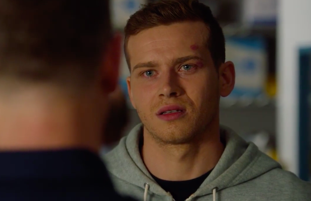 '9-1-1' Season 3 Premiere: Buck May Be Stuck on Desk Duty – and He's Definitely Pissed (Exclusive Video)