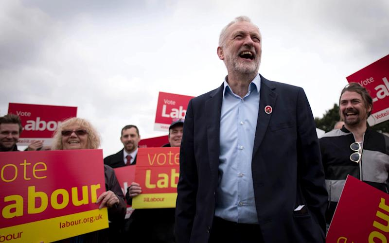 The Labour leader - PA