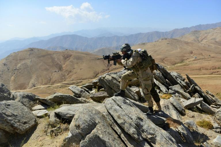 The Afghan resistance says it still has thousands of fighters in the Panjshir valley (AFP/Ahmad SAHEL ARMAN)