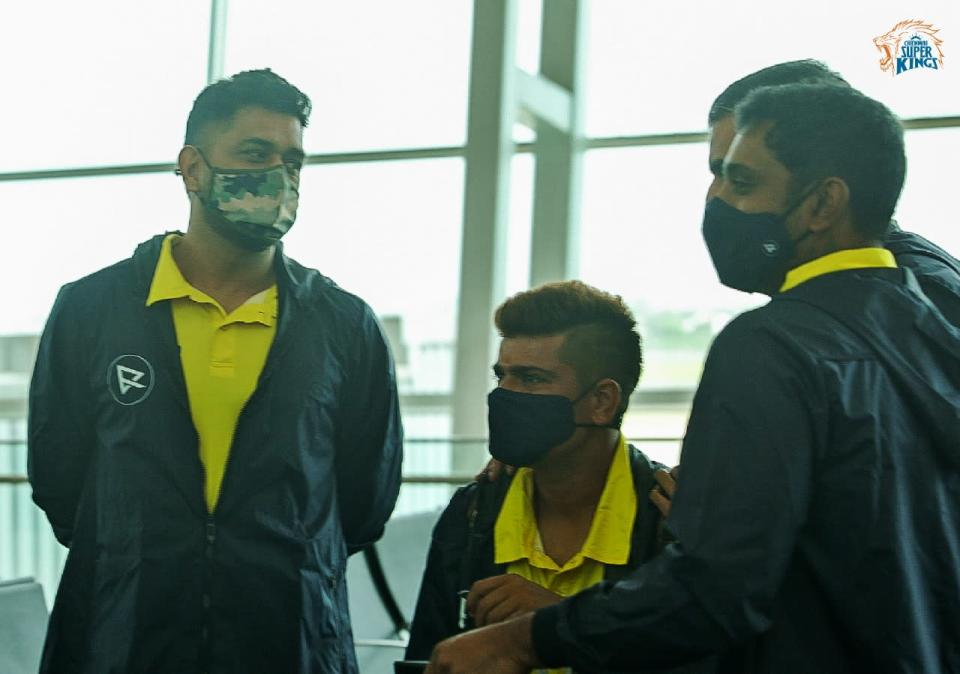 CSK Players Depart For UAE, IPL 2021